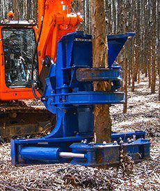Dymax HPX Excavator Tree Shears - Dymax Inc
