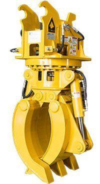 Hydraulic Rotation Grapple - Dymax Inc